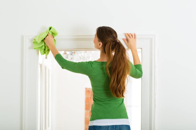 Cleaning the home - The Property Blog