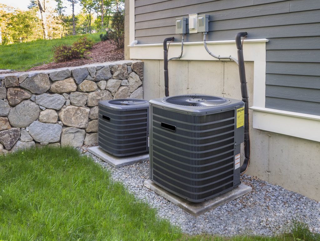Outside Air Conditioner - The Property Blog