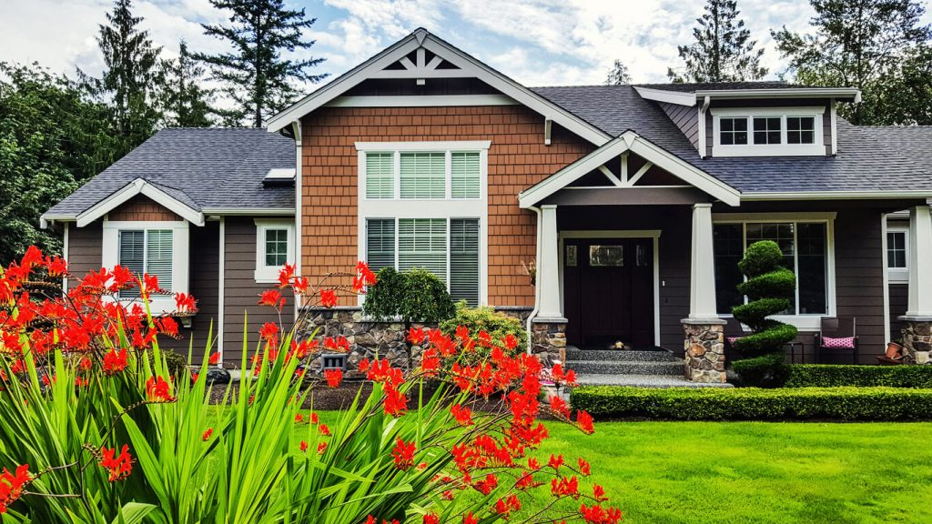 front of a house - The Property Blog