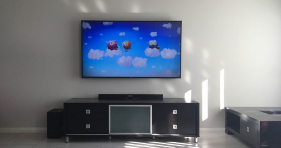 Wall Mounted TV - The Property Blog