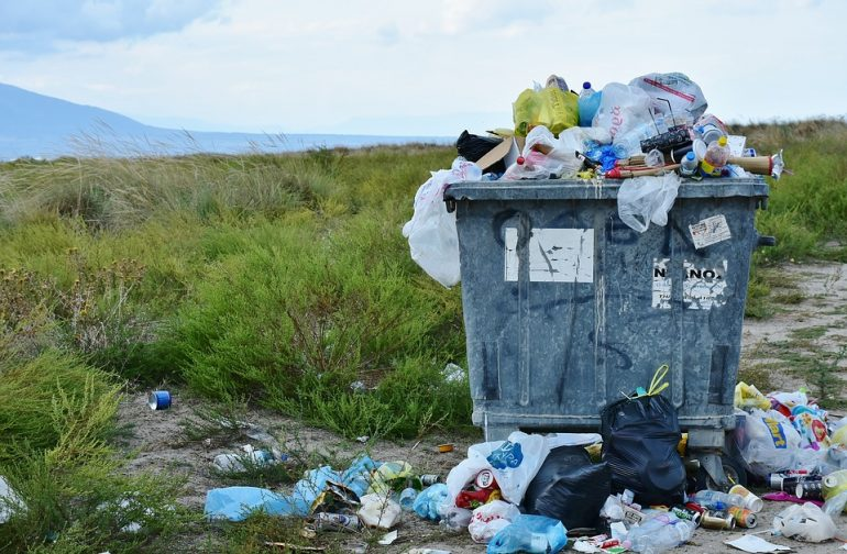 Messy Communal Bin Stores - The Property Blog